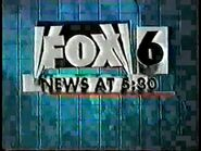 WBRC's FOX 6 News at 530 video opening from December 1999