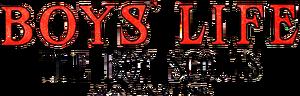 Boy's Life logo August 1912