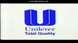 Unilever Philippines 1997 on screen logo with Total Quality slogan
