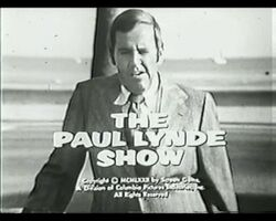 Paul Lynde Show Opening Title B W