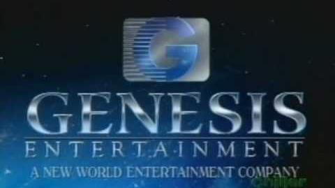 Genesis Entertaiment extended logo (1994)