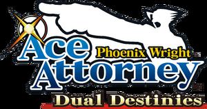 Phoenix Wright Ace Attorney Dual Destinies logo
