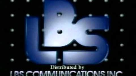 LBS Communications Distribution logo (1987)