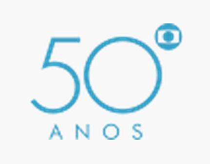 Image globo 50 logopedia fandom powered by - Globos 50 anos ...