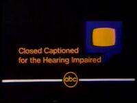 ABC Closed Captioning 1980