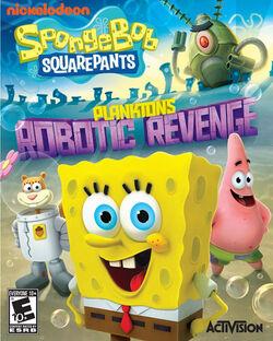 SpongeBob SquarePants Planktons Robotic Revenge NA game cover