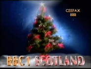 BBC One Scotland Christmas 1989 ident
