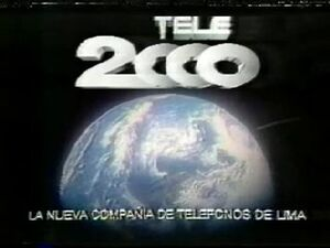 Tele 2000 Logo