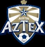 Austin Aztex logo (one gold star)