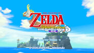 Zelda High Def title screen