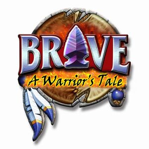 Brave warriors tale logo