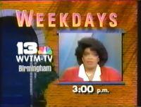 WVTM-TV Channel 13 Oprah Winfrey Show promo 1987