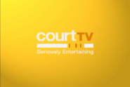Court TV 2005 network ID (yellow)