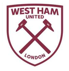 image new west ham united fc logo white and claret v1 png logopedia fandom powered by wikia. Black Bedroom Furniture Sets. Home Design Ideas