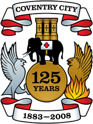 Coventry City FC logo (125 years)
