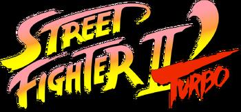 Street Fighter II Turbo logo