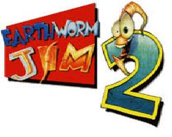 Earthworm jim 2logo