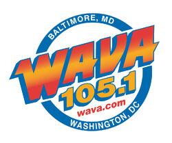 WAVA 105.1 logo