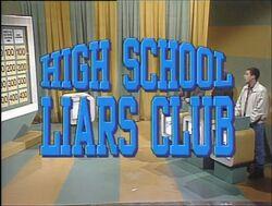 High School Liars Club