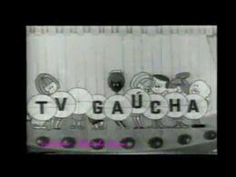 Tv gaucha 1964