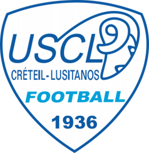 US Créteil-Lusitanos logo (introduced 2015)