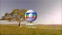 Em Família seal short Globo 2014-2015 logo 2014