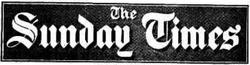 Sunday times 1940s