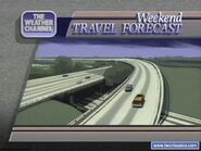 Weekend travel forecast90