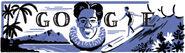 Google Duke Kahanamoku's 125th Birthday (Version 2)