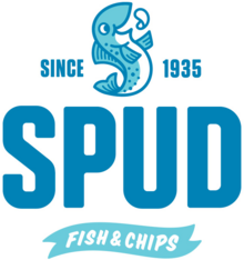 Spud fish and chips logo