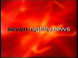 Seven Nightly News 1999