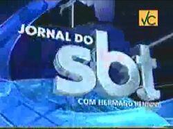 Jornal do SBT 2005 (Com Hermano Henning)