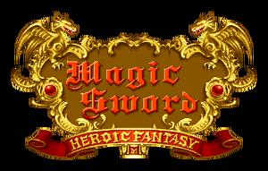Magic Sword Heroic Fantasy Logo