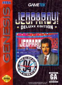 Jeopardy! Deluxe Edition (Sega Genesis)