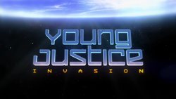 Young Justice Season two title card