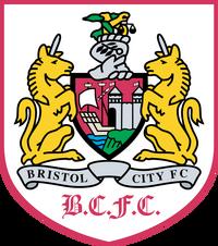 Bristol City FC logo (1996-1997, home)
