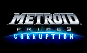 Metroid Prime 3 logo