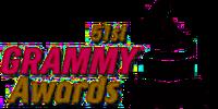 51st Grammy Awards logo