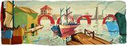 Google Quinquela Martín's 122nd Birthday