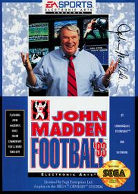 John Madden Football '93 Coverart