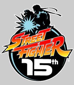 Street Fighter 15th Logo