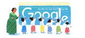 Google Dewi Sartika's 132rd Birthday