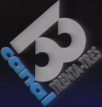 Canal 33 logo 1988