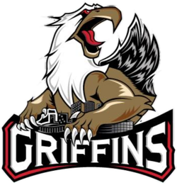 Grand Rapids Griffins logo (introduced 2015)