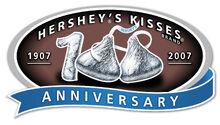 Hershey'sKisses100thAnniversaryLogo
