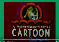 A MGM Cartoon Logo