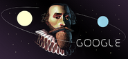 Google Johannes Kepler's 442nd Birthday