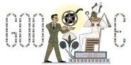 Google Shadi Abdel Salam's 85th Birthday