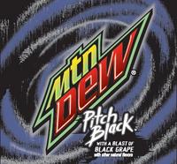 Mtn Dew Pitch Black