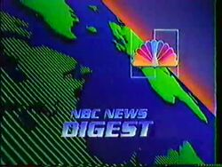 NBC News Digest intro 1983